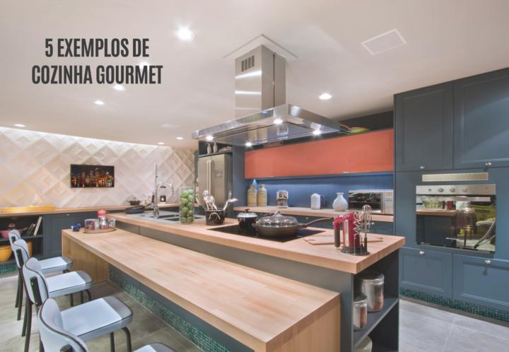 5 exemplos de decoração para cozinha gourmet