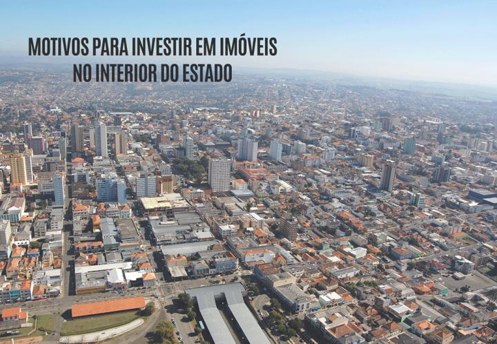 4 motivos que farão você investir em imóveis no interior do estado