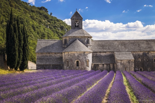 Abadia de Notre-Dame Senanque na França