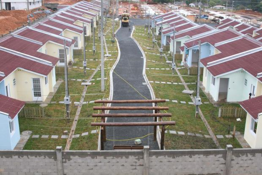 Condomínio Minha Casa Minha Vida em Ponta Grossa