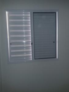 Cheque as janelas ao fazer vistoria em apartamento novo