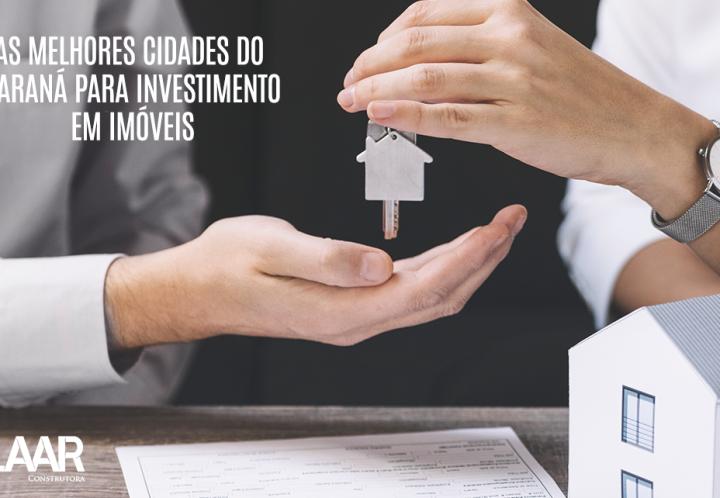 As melhores cidades do Paraná para investimento em imóveis